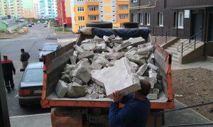 Вывоз строительного мусора с грузчиками Абакан