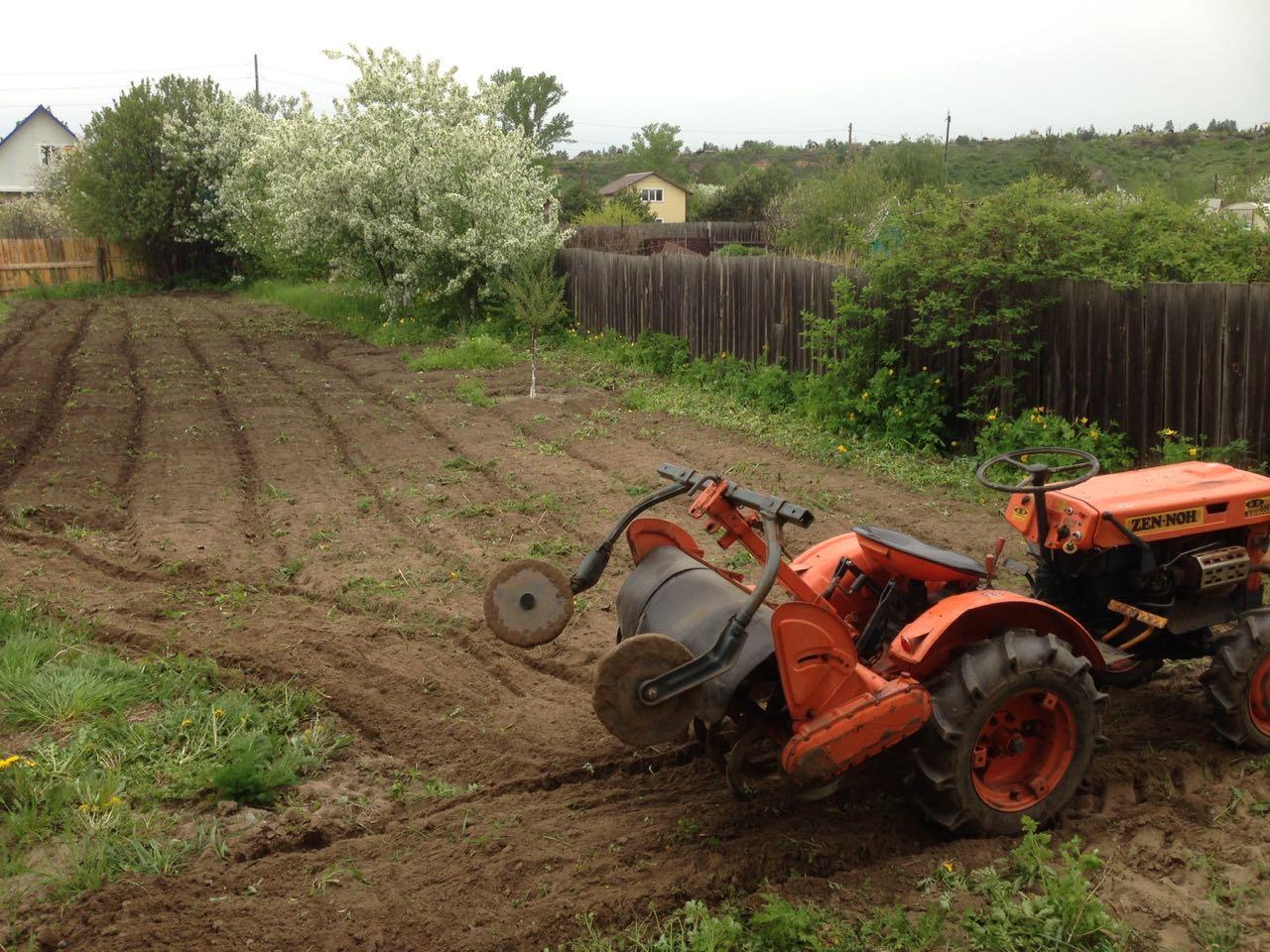 Вспашка огорода, сада, приусадебного участка в Абакане и пригороде